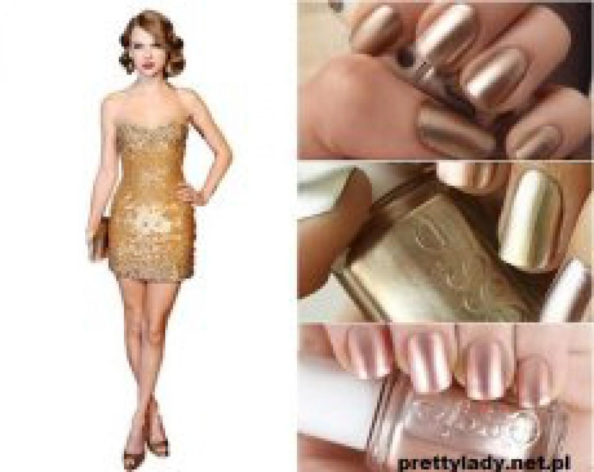 Jakie Paznokcie Do Zlotej Sukienki Wybrac